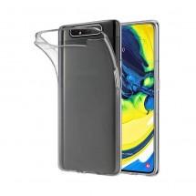 Funda TPU Silicona Transparente para Samsung Galaxy A80