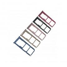 Bandeja porta tarjeta Sim y MicroSD para Samsung Galaxy A30 A305F A50 A505F - elige color