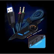 Casco Auricular Game con Micrófono y Luz NW-GM093 - varios colores
