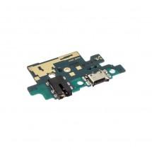 Placa conector de carga jack audio y micrófono para Samsung Galaxy A40 (A405F)