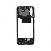 Marco frontal display color negro para Samsung Galaxy A70 (A705F)