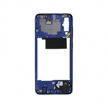 Marco frontal display color azul para Samsung Galaxy A70 (A705F)