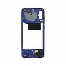 Marco frontal display color azul para Samsung Galaxy A70 (A705F)