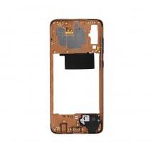 Marco frontal display color dorado para Samsung Galaxy A70 (A705F)