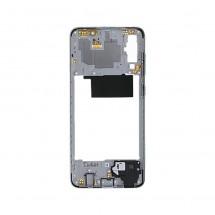 Marco frontal display color blanco para Samsung Galaxy A70 (A705F)