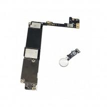 Placa Base Libre 32Gb con boton huella Rosa para iPhone 7+/ 7Plus (swap)