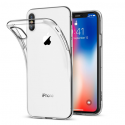 Funda TPU Silicona Transparente para iPhone X