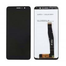 Pantalla completa LCD y táctil color negro para Alcatel 1X 2019 5008