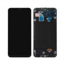 Pantalla completa Original LCD y táctil CON MARCO para Samsung Galaxy A30 A305F