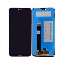 Pantalla completa LCD y táctil color negro para Nokia 6.1 Plus