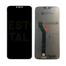 Pantalla completa LCD y táctil negro para Motorola Moto G7 Plus XT1965