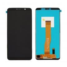 Pantalla completa LCD y táctil color negro para Wiko Y80