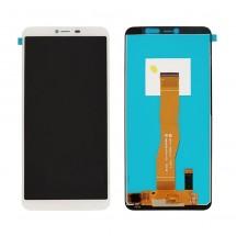 Pantalla completa LCD y táctil color blanco para Wiko Y80