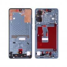 Marco frontal pantalla color azul para Huawei P30