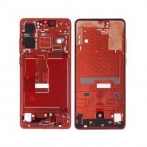 Marco frontal pantalla color rojo para Huawei P30