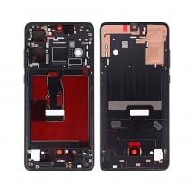 Marco frontal pantalla color negro para Huawei P30