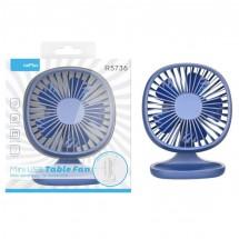 Ventilador mesa abatible velocidad variable USB - Ref. OP-R5736 - Elige color