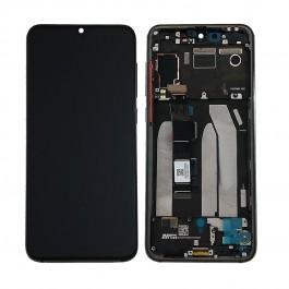 Pantalla completa LCD y táctil con marco color negro para Xiaomi Mi 9 SE / Mi9 SE