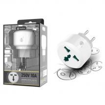 Adaptador de enchufe EU universal para viaje OP-A5517 - elige color
