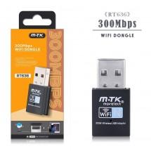 Adaptador USB WIFI 300mps OP-RT636