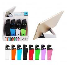 Soporte de mesa para móviles y tablet - varios colores