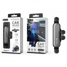 Soporte rejilla ventilación coche ajustable para Móviles - Mod. OP-E6071 - elige color