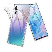 Funda TPU Silicona Transparente para Samsung Galaxy Note 10+