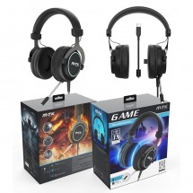 Auriculares cascos Gaming 7.1 con Micrófono Ref. OP-CT821