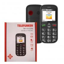 Telefunken TM 110 Cosi - teclas grandes - Negro - NUEVO - (2 años de garantía)
