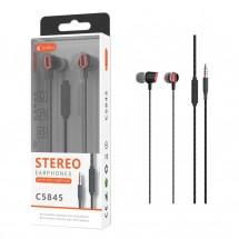 Auriculares con micrófono - manos libres - ref. OP-C5845 - elige color