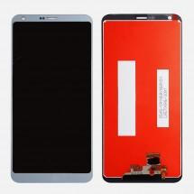 Pantalla completa LCD y táctil color silver para LG G6 / H870
