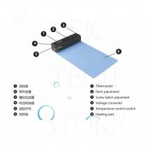 Alfombrilla termica profesional Wylie 1805 para desmontar pantallas de Moviles y Tablets