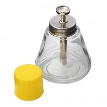 Bote cristal para líquidos - Alcohol Limpiador Removedor - 150ml con dosificador