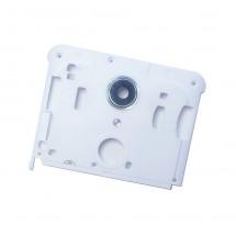 Carcasa intermedia blanca con cristal lente cámara Wiko U Pulse Lite (swap)