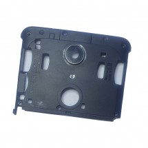 Carcasa intermedia negra con cristal lente cámara Wiko U Pulse Lite (swap)