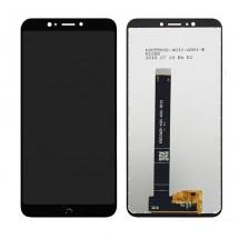 Repuesto de Pantalla completa LCD y táctil color negro para teléfono móvil BQ Aquaris C / BQ C