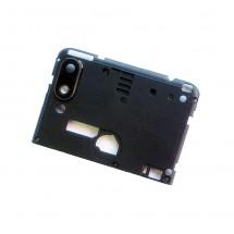 Carcasa intermedia con cristal lente cámara Wiko View 2 Go (swap)