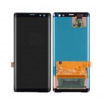 Pantalla completa color negro para Sony Xperia XZ3 H8416 H9436 H9493