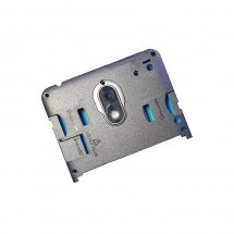 Carcasa intermedia con cristal lente cámara Wiko Lenny 5 (swap)