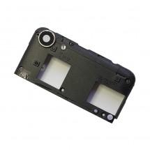 Carcasa intermedia con cristal lente cámara Wiko Lenny 3 Max (swap)