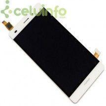 Pantalla Completa LCD y tactil Huawei Ascend P8 Lite blanco