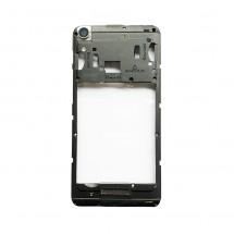 Carcasa intermedia con cristal lente cámara Wiko Lenny 4 (swap)