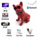 Altavoz Bluetooth con forma de perro - elige tamaño y color