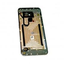 Tapa trasera Gris con cristal lente y botones laterales Vodafone Smart V8 VFD-710 (swap)