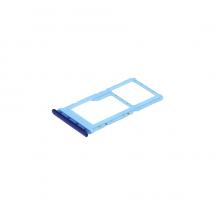 Bandeja porta tarjeta Sim y MicroSD color Azul Xiaomi Mi A3