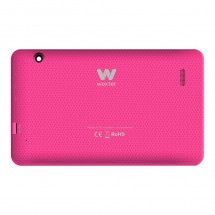 Tapa color rosa botones laterales y cristal cámara Woxter N-70 N70 (swap)