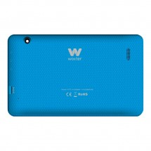Tapa color Azul botones laterales y cristal cámara Woxter N-70 N70 (swap)
