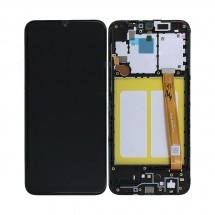 Pantalla completa LCD y tácil CON MARCO Samsung Galaxy A20e A202F