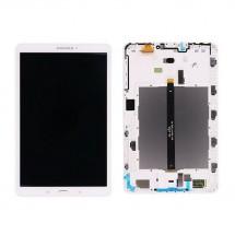 Pantalla ORIGINAL con Marco GRADO B Samsung Galaxy Tab T580 T585 (swap) Blanca