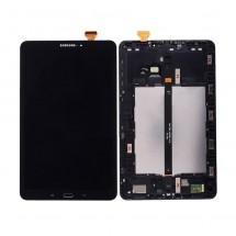 Pantalla ORIGINAL con Marco GRADO A Samsung Galaxy Tab T580 T585 (swap) Negro